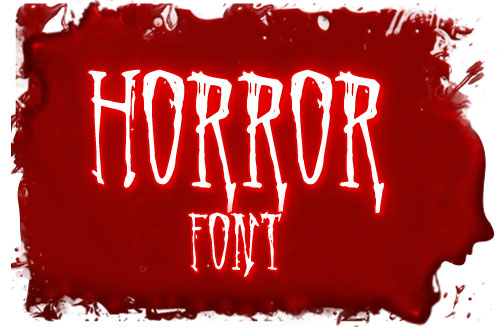 40 Best Free Horror Fonts for Designers - TutorialChip
