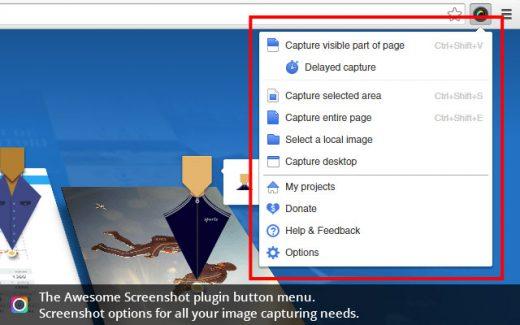 Awesome Screenshot - Best Chrome Plugins