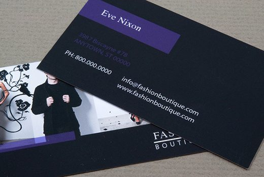 Boutique Fashion Business Card