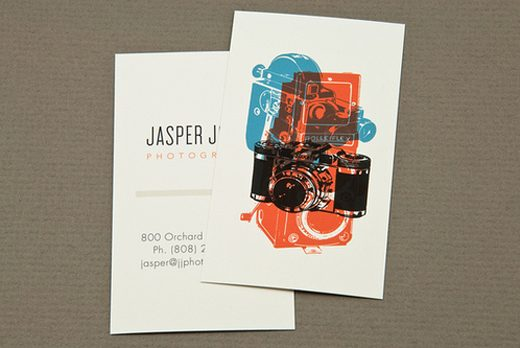 Classic Fashion Photographers Business Card
