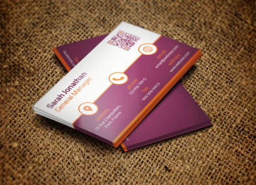 Cool Fashion Business Card Ideas