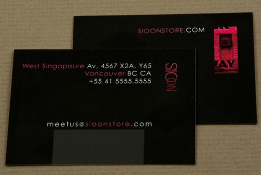 Fashion Boutique Business Card Tutorialchip