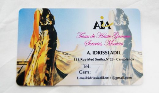 Fashion Dress Company Plastic Business Cards