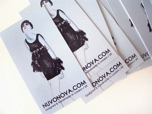 Ladies Fashion Business Cards Trend