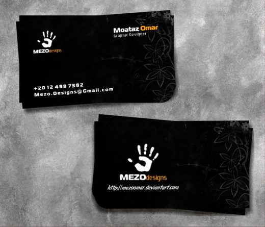 New Business Cards for Fashion Industry