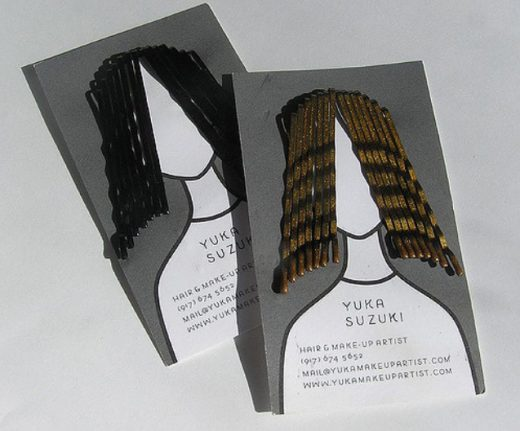 Yuka Suzuki Fashion Business Card