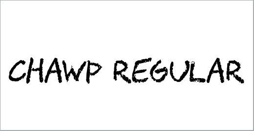 CHAWP Font