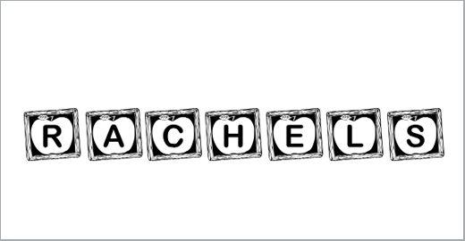 KR Rachel's Chalkboard Fonts